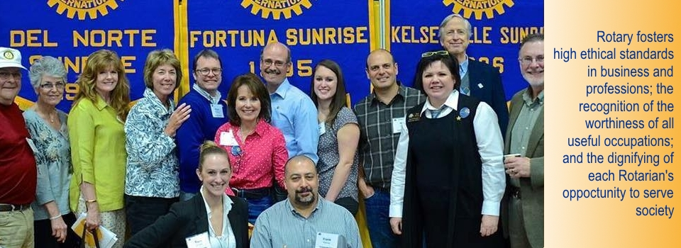 Fortuna Sunrise Rotary
